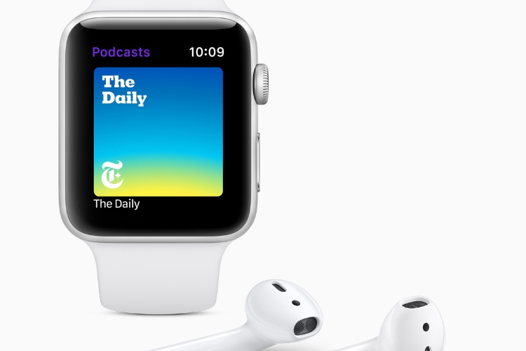 watchOS 5 s'ouvre aux podcasts, mais pas au streaming